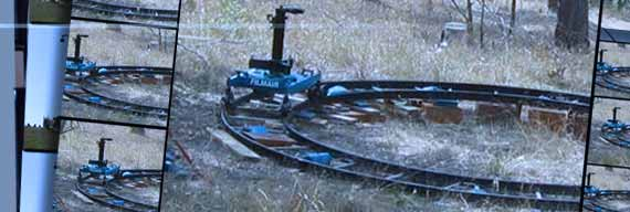 Precision Dolly Track (Black Track)